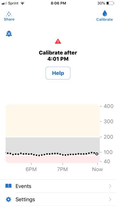 Screenshots of the pesky error message