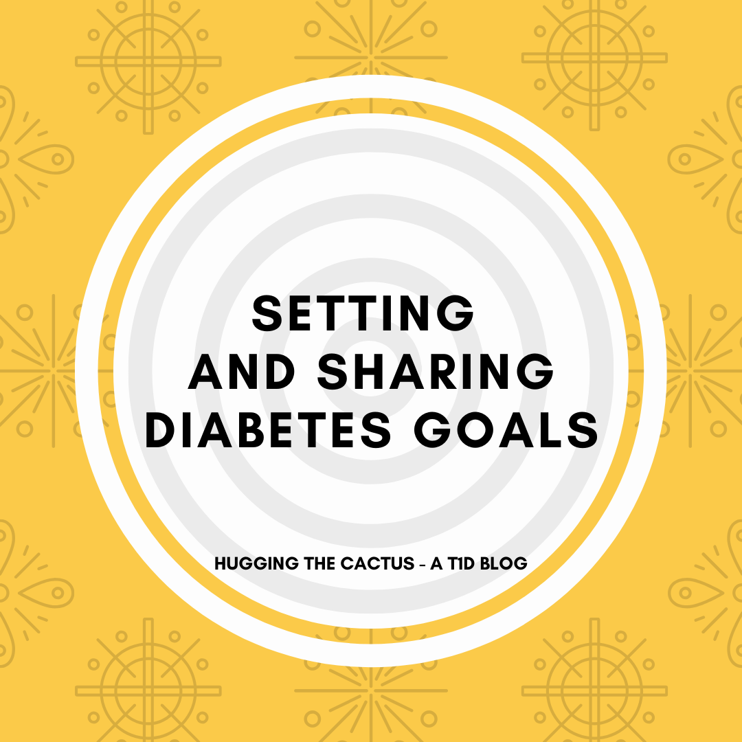 Setting and sharing diabetes goals
