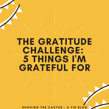 The Gratitude Challenge_ 5 Things I'm Grateful For