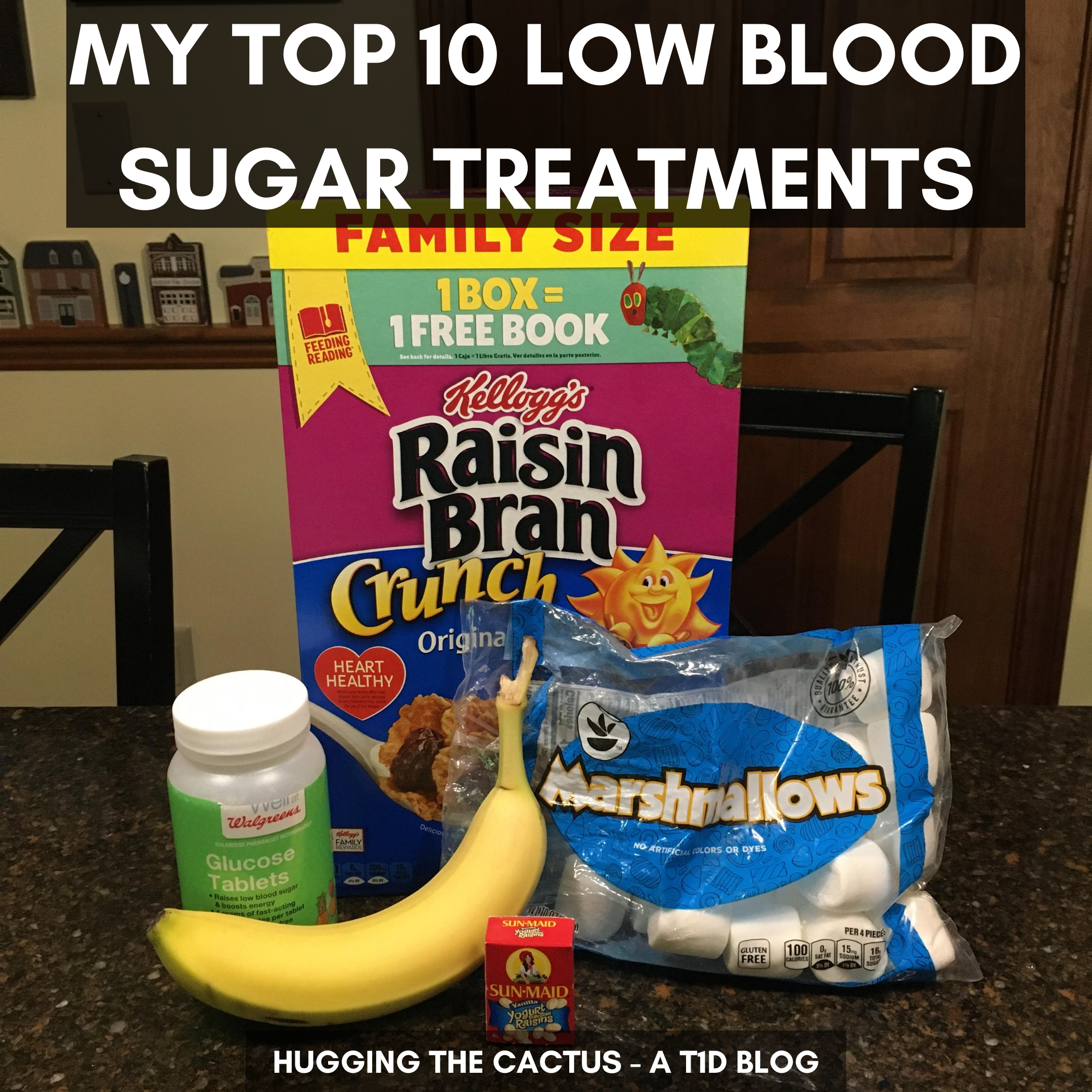My Top 10 Low Blood Sugar Treatments