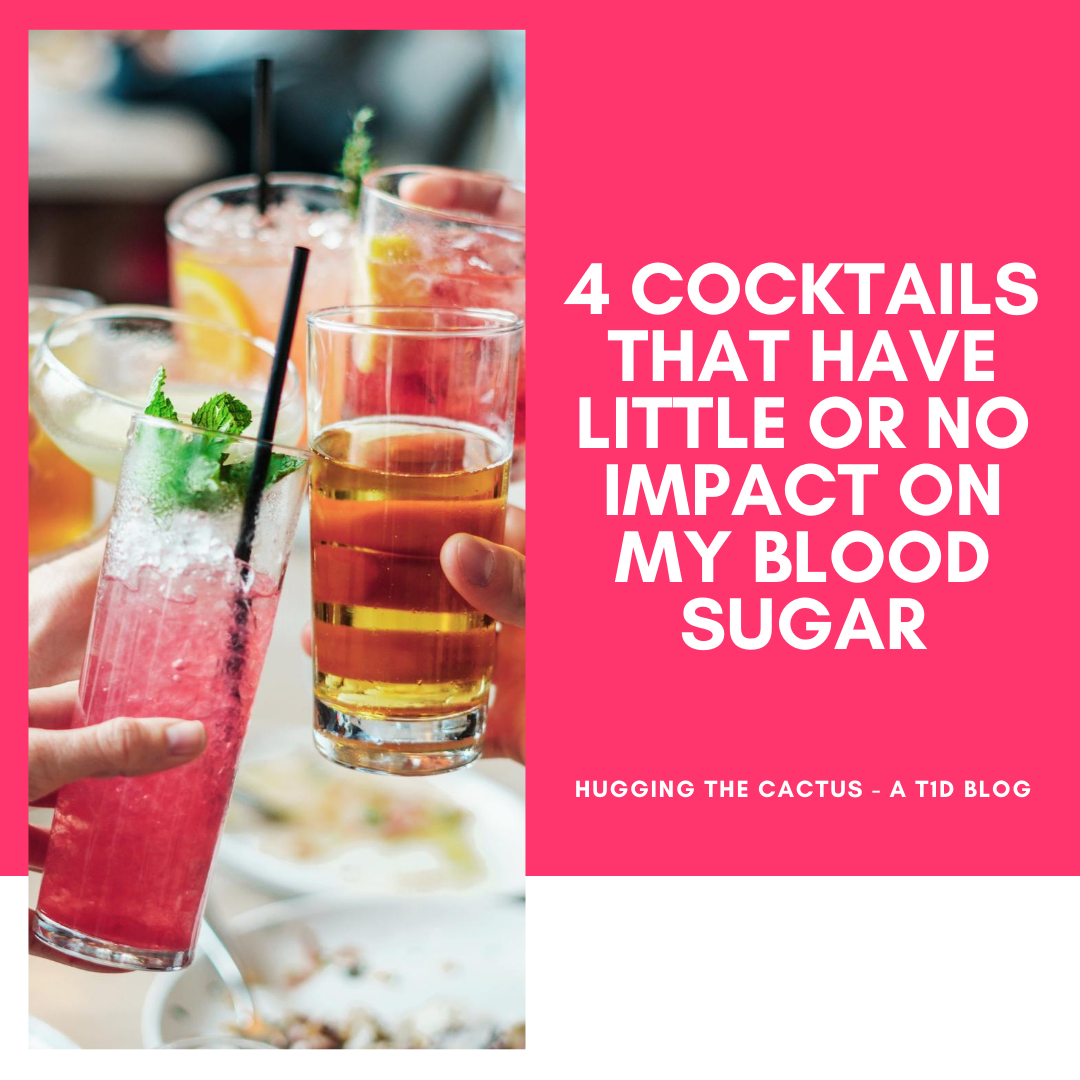 4 Cocktails That Have Little or No Impact on My Blood Sugar